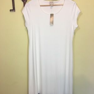 Chico's Size 1 White & Black Dress